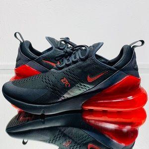 """Nike Air Max 270 SE """"Reflective"""" GreyHabanero Red NWT"""